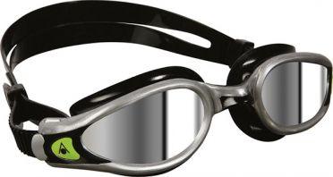 Aqua Sphere Kaiman EXO spiegellens zwembril zwart/zilver