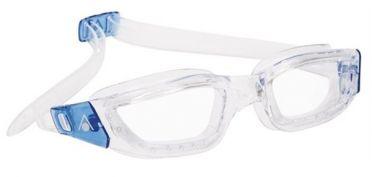 Aqua Sphere Kameleon transparante lens zwembril zilver/blauw