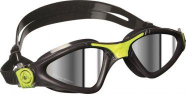 Aqua Sphere Kayenne spiegellens Zwembril grijs/lime