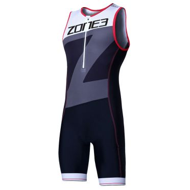 Zone3 Lava long distance mouwloos trisuit heren
