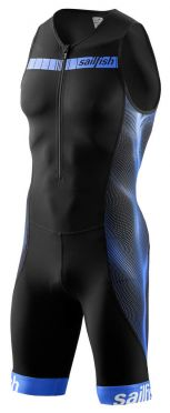 Sailfish Competition trisuit zwart/blauw heren