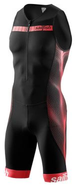 Sailfish Competition trisuit zwart-rood heren