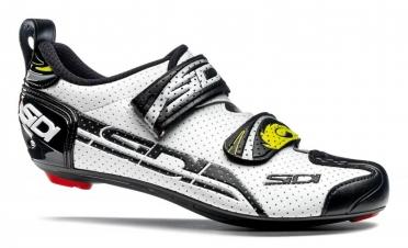 Sidi T-4 Air carbon composite triathlonschoen wit/zwart heren