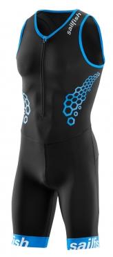 Sailfish Competition trisuit zwart-blauw heren 2018