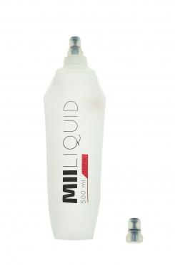 Miiego Bidon drinkbeker transparant 500 ml
