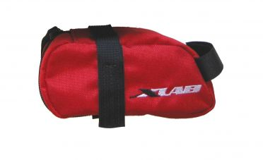XLAB Mini saddle bag zadeltas rood