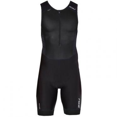 2XU Perform sleeveless trisuit zwart heren