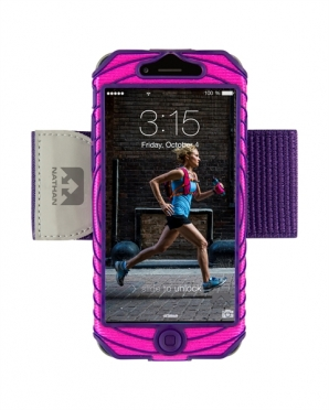Nathan SonicBoom iPhone 6 Floro Fuchsia Imperial Purple