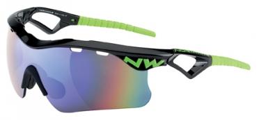 Northwave Steel sportbril zwart/groen
