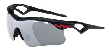 Northwave Steel sportbril zwart/rood