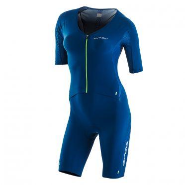 Orca 226 kompress aero race trisuit blauw dames