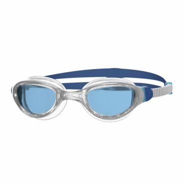 Zoggs Phantom 2.0 zwembril grijs/blauw - blauwe lens