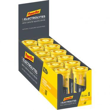 Powerbar Electrolyte tabs 12 x 10 tabletten mango passievrucht