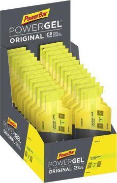 Powerbar Powergel original citroen limoen 24 x 41 gram