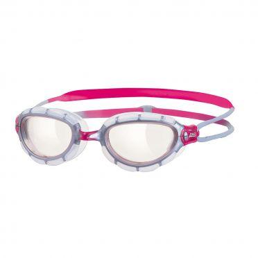 Zoggs Predator transparante lens zwembril roze
