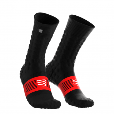 Compressport Pro Racing V3.0 winter fietssokken zwart