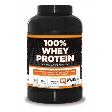 QWIN 100% Whey Protein Vanille 2400 gram