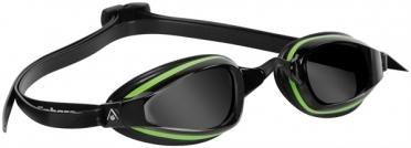 Aqua Sphere K180+ Zwembril donkere lens groen/zwart
