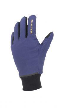 Sealskinz Waterproof all weather lichtgewicht handschoenen blauw