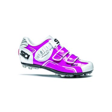 Sidi Buvel mountainbikeschoen fuxia/wit dames