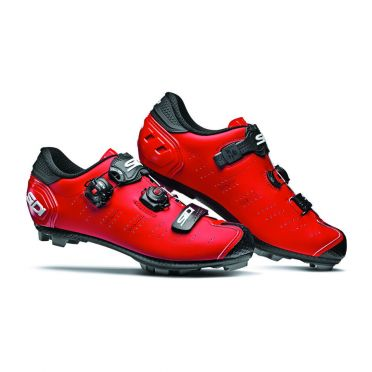 Sidi Dragon 5 SRS Matt mountainbike schoen rood heren
