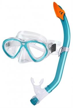 Aquatics Sirena Snorkelset dames aqua