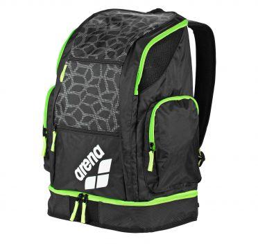 Arena Spiky 2 large rugzak zwart/groen