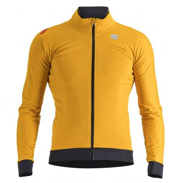 Sportful Fiandre pro lange mouw jacket geel heren