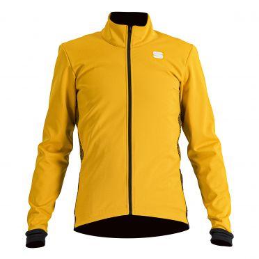 Sportful Neo softshell fietsjas lange mouw geel heren