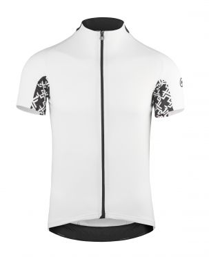 Assos Mille GT korte mouw fietsshirt wit heren