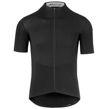 Assos SS.cento evo8 korte mouw fietsshirt zwart heren