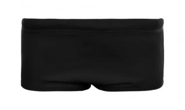 Funky Trunks Still zwart Plain front trunk zwembroek heren