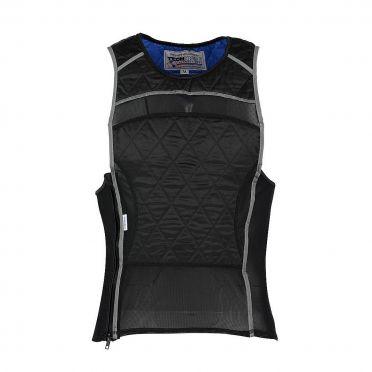 TechNiche KewlShirt evaporative cooling tank top zwart/zilver