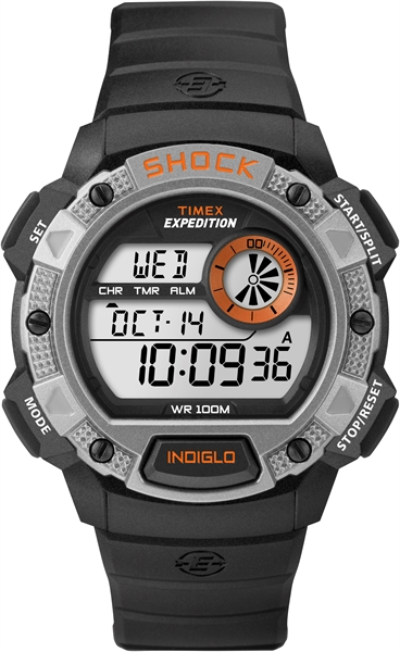 Timex Expedition Base Shock outdoorhorloge