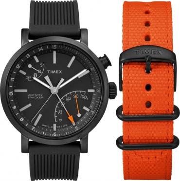 Timex Metropolitan+ giftset with extra nylon strap (TWG01260)