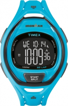 Timex Sleek 50 Neon Blue