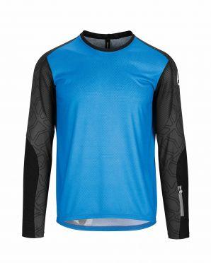 Assos Trail LS fietsshirt blauw heren