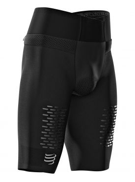 Compressport Trail running Under control compressieshort zwart heren