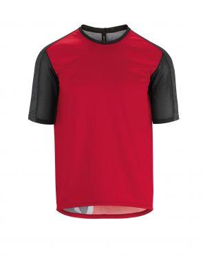 Assos Trail SS fietsshirt rood heren