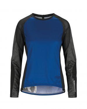 Assos Trail LS fietsshirt blauw dames