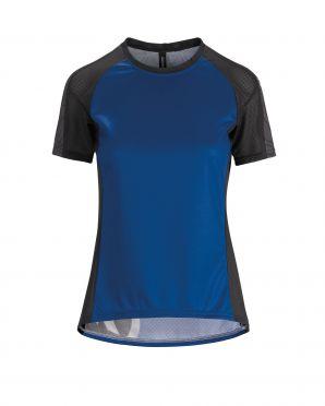 Assos Trail SS fietsshirt blauw dames