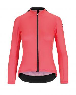 Assos UMA GT Summer lange mouw fietsshirt roze dames