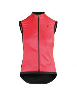 Assos Uma GT wind vest fietsjack roze dames