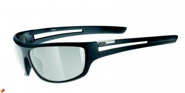 Uvex Chunk Sportbril zwart-mat