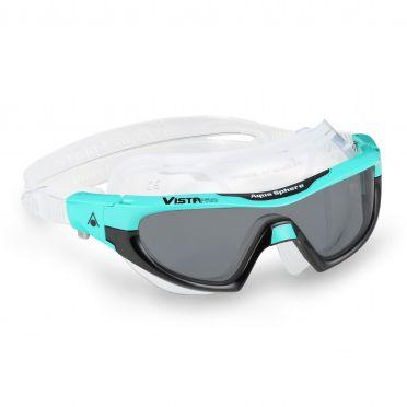 Aqua Sphere Vista Pro donkere lens zwembril groen/zwart