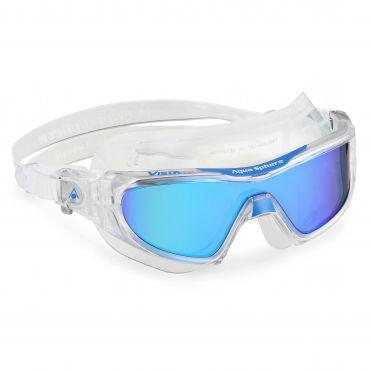 Aqua Sphere Vista Pro multilayer mirror lens zwembril clear/blauw