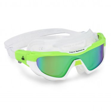 Aqua Sphere Vista Pro multilayer mirror lens zwembril groen/wit