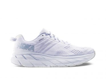 Hoka One One Clifton 6 hardloopschoenen wit dames