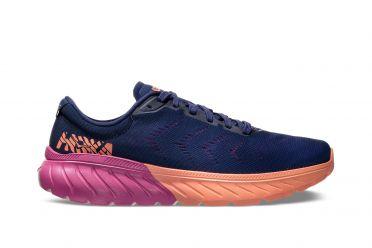 Hoka One One Mach 2 hardloopschoenen blauw/roze dames