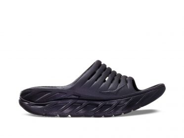 Hoka One One ORA Recovery Slide slippers zwart dames